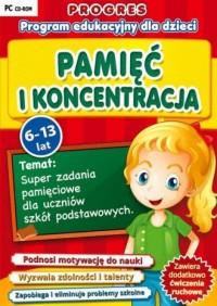 Progres: Pamięć i koncentracja (6-13 lat). Program edukacyjny dla dzieci - pudełko programu