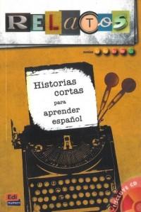 Relatos 1 (+ CD). Historias cortas - okładka książki