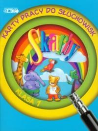 Skarby. Klasa 1. Edukacja wczesnoszkolna. Karty pracy do słuchowisk (+ CD) - okładka podręcznika