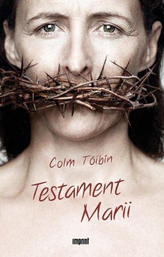 Testament Marii - okładka książki