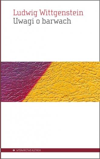 Uwagi o barwach - okładka książki