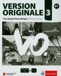 Version Originale 3. Szkoła ponadgimnazjalna. - okładka podręcznika
