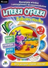Zabawa i Nauka: Literki, cyferki (4-7 lat). Gry uczące czytać i liczyć - pudełko programu