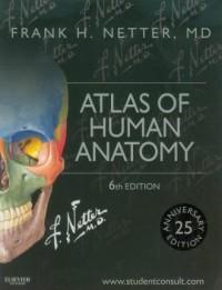 Atlas of Human Anatomy - okładka książki