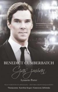 Benedict Cumberbatch. Czas zmian - okładka książki