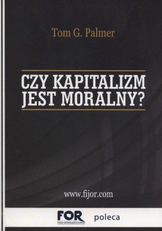 Czy kapitalizm jest moralny? - okładka książki