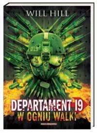Departament 19. W ogniu walki - okładka książki