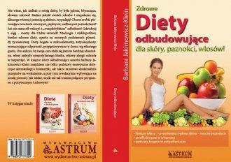 Dieta odbudowująca dla skóry, paznokci, - okładka książki
