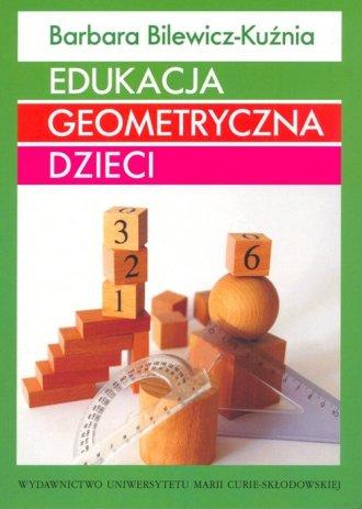 Edukacja geometryczna dzieci - okładka książki