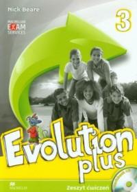 Evolution Plus 3. Szkoła podstawowa. - okładka podręcznika