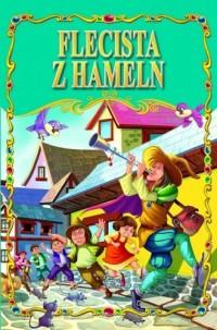 Flecista z Hameln - okładka książki