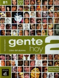 Gente Hoy 2. Podręcznik (+ CD) - okładka podręcznika
