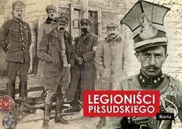 Legioniści Piłsudskiego - okładka książki