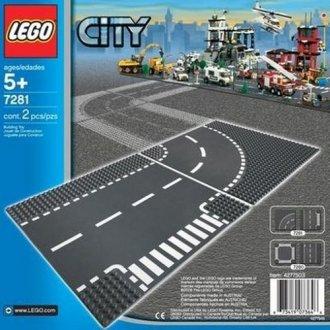 Lego City Skrzyżowanie I Zakręt Lego Zabawki Gry