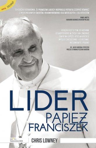 Lider. Papież Franciszek - okładka książki