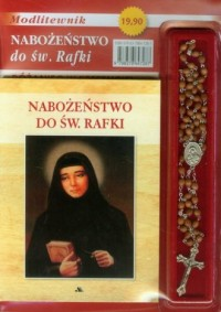Nabożeństwo do św. Rafki. Modlitewnik - okładka książki