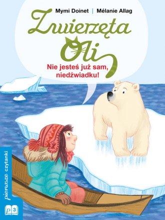 Nie jesteś już sam, niedźwiadku! - okładka książki