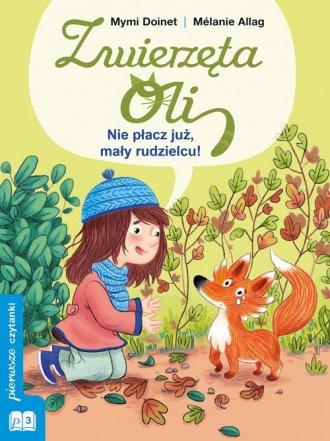 Nie płacz już, mały rudzielcu! - okładka książki