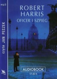 Oficer i szpieg (CD mp3) - pudełko audiobooku