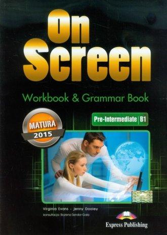 On Screen. Pre-Intermediate B1 - okładka podręcznika