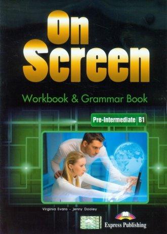 On Screen. Pre-Intermediate Workbook - okładka podręcznika