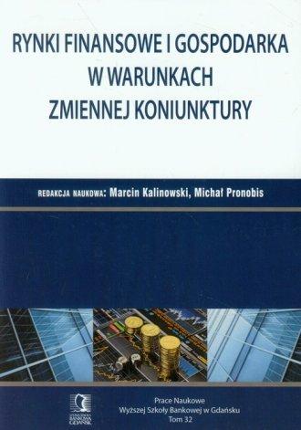 Rynki finansowe i gospodarka w - okładka książki