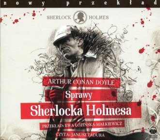 Sprawy Sherlocka Holmesa (CD mp3) - pudełko audiobooku