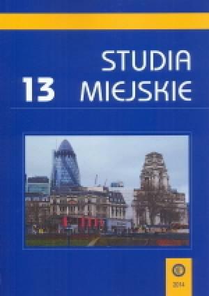 Studia Miejskie. Tom 13 - okładka książki