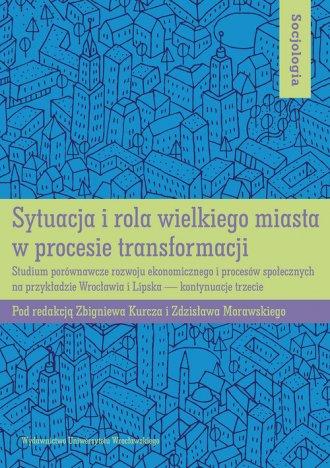 Sytuacja i rola wielkiego miasta - okładka książki