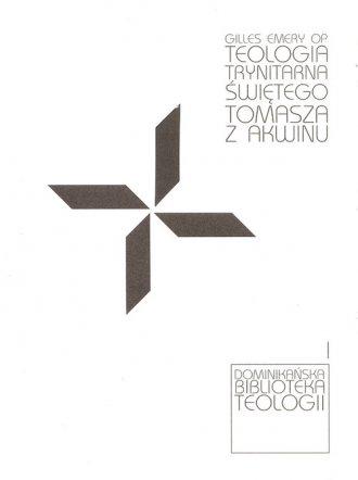 Teologia trynitarna Św. Tomasza - okładka książki