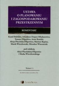 Ustawa o planowaniu i zagospodarowaniu. - okładka książki