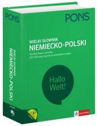 Wielki słowniki niemiecko-polski. 150 000 haseł i zwrotów - okładka książki