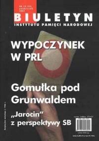 Biuletyn IPN nr 33 (10) / 2003 - okładka książki