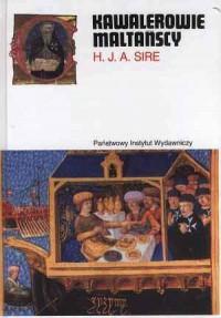 Kawalerowie Maltańscy - okładka książki