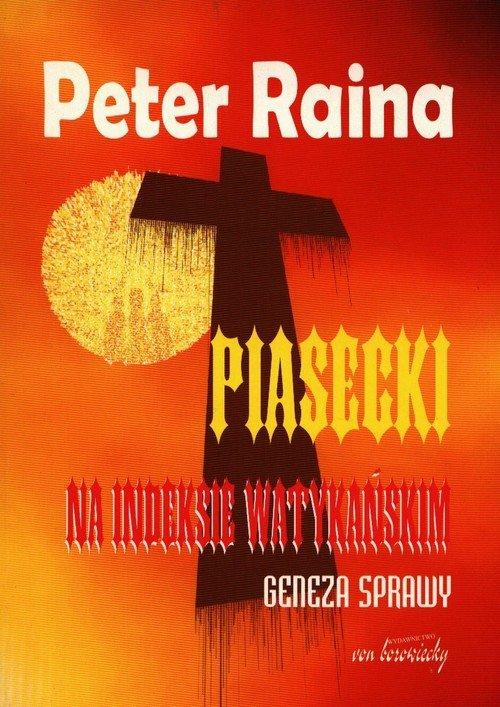Piasecki na indeksie watykańskim. - okładka książki