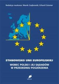 Stanowisko Unii Europejskiej wobec - okładka książki