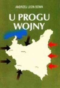 U progu wojny - okładka książki