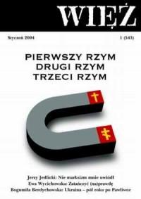 Więź nr 1/2004. Styczeń - okładka książki