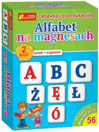 Alfabet na magnesach (polski + - zdjęcie zabawki, gry
