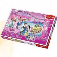 Arielka i Kopciuszek (puzzle) - zdjęcie zabawki, gry