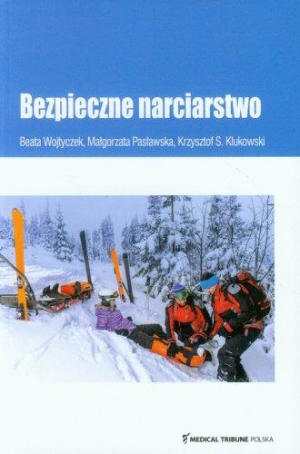 Bezpieczne narciarstwo - okładka książki