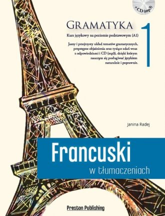 Francuski w tłumaczeniach. Gramatyka - okładka podręcznika