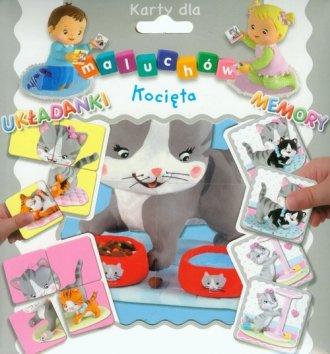 Karty dla maluchów. Kocięta - zdjęcie zabawki, gry
