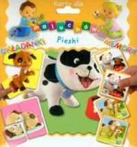 Karty dla maluchów. Pieski - Wydawnictwo - zdjęcie zabawki, gry
