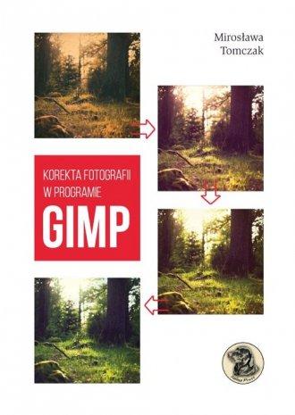 Korekta fotografii w programie - okładka książki