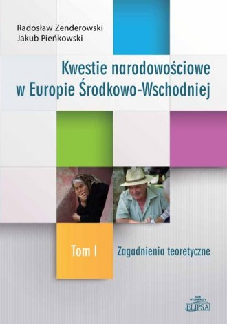 Kwestie narodowościowe w Europie - okładka książki