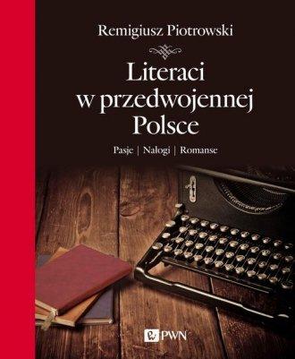 Literaci w przedwojennej Polsce - okładka książki