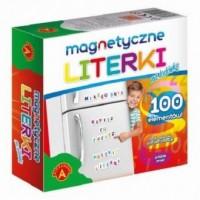Literki magnetyczne na lodówkę - zdjęcie zabawki, gry