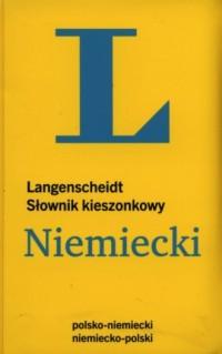 Słownik kieszonkowy. Niemiecki - okładka książki