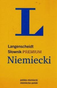Słownik. Niemiecki: polsko-niemiecki, niemiecko-polski - okładka książki